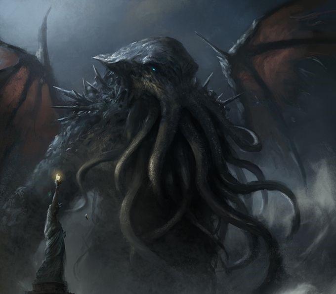 Chtulu Grande Antico Lovecraft